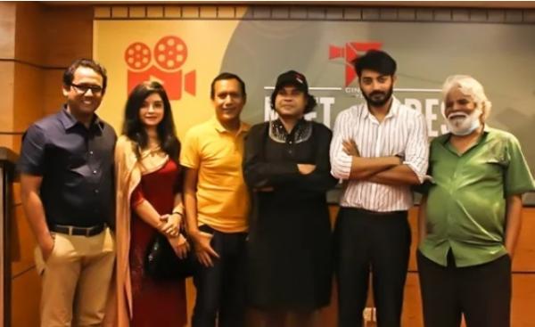 ছবি- '৫৭০' চলচ্চিত্রে উদ্বোধনী অনুষ্ঠানের কলাকুশলীদের
