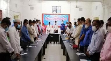 আইনশৃঙ্খলা কমিটির মাসিক সভা অনুষ্ঠিত হয়েছে সাদুল্লাপুরে