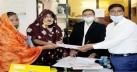 মদন পৌর নির্বাচনে সংরক্ষিত ওয়ার্ডে প্রার্থী তৃতীয় লিঙ্গের সোনালী