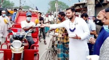 গাইবান্ধায় প্রতিদিন ইফতার বিতরণ অব্যাহত রেখেছে জেলা ছাত্রলীগ