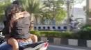 এক যুগলের প্রেমের দৃশ্য সোশ্যাল মিডিয়ায় ভাইরাল