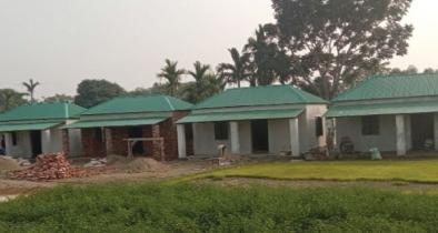 নেত্রকোনার মদনে ঘর পাচ্ছে ৫৬ টি গৃহহীন পরিবার